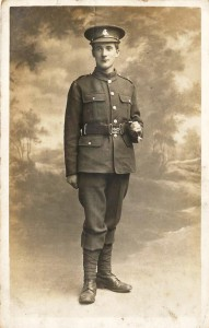 Private F.Foster died in WW1 - Ypres